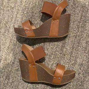 Womens REFRESH Wedge Sandals